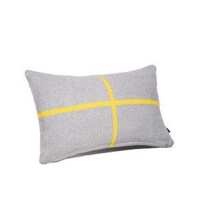 JAMAKHAN CROSS HANDWOVEN CUSHION - Jamakhan Cushion Cross Grey 30x50 500x500