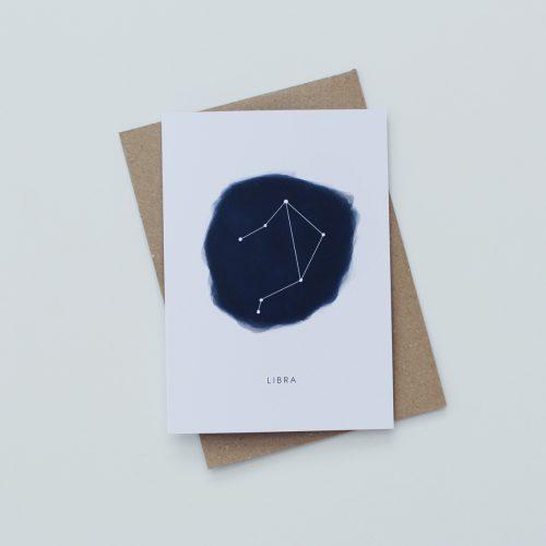 LIBRA (GC0022) Zodiac Card