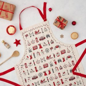 AP35X – London Christmas Apron – pack of 6