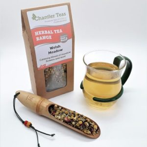 Welsh Meadow Loose Leaf Herbal Blend, Chamomile lavender rose and peppermint tea