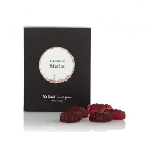 The Real Wine Gums by Vinoos - Merlot (Case Of 12) - Merlot giftbox solo 2 500x500