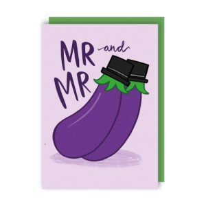 Mr and Mr Love Card pack of 6 - Mr and Mr 500x500