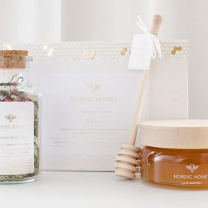 Organic Nordic Honey Tealiscious Gift Set – Tea & Honey (Case Of 4)