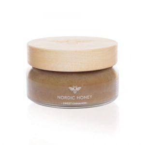 Organic Nordic Honey – Infused With Sweet Cinnamon (Large 250g Jar) (Case Of 6)