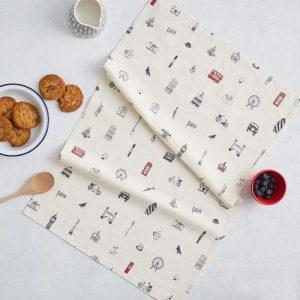 TT66 – Simply London Tea Towel – pack of 6