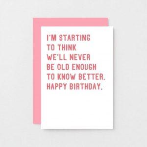 Funny Birthday Card | SE2013A6