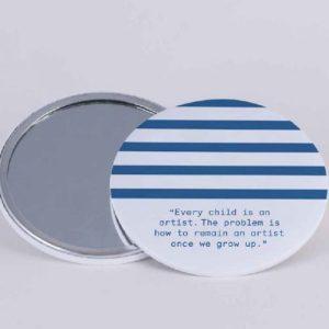 Stripes Pocket Mirror – Pack of 5