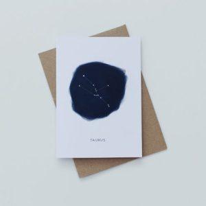 TAURUS (GC0017) Zodiac Card