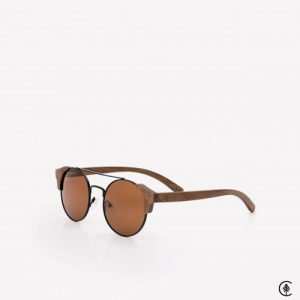Wooden Sunglasses | Nazaré | Vintage Brown Lens