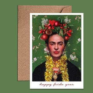 Birthday Card – Christmas Card – Happy Frida Year Card (WAC18414)
