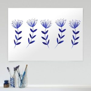 Wild Flower LIMITED EDITION A2 Highest Quality Eco-conscious Fine Art Giclee Print