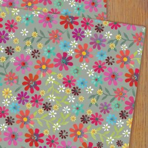 WP59 spring wrapping paper