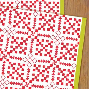 WP77 scandi wrapping paper