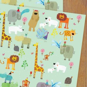WP94 animal wrapping paper