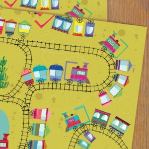 WP95 railway wrapping paper