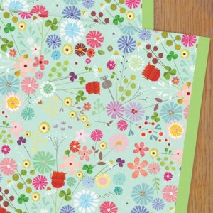 WP98 floral wrapping paper