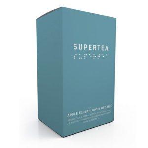Supertea Apple Elderflower Organic Tea (Case Of 4)