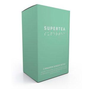 Supertea Cinnamon Ginger Detox Organic Tea (Case Of 4)