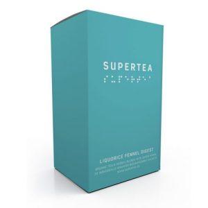 Supertea Liquorice Fennel Digest Organic Tea (Case Of 4)
