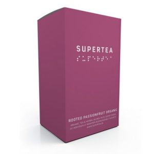 Supertea Rooted Passionfruit Organic Tea (Case Of 4)