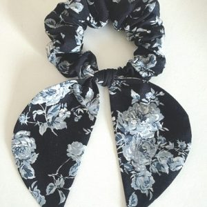 Handmade Hair Bow scrunchie. Made in England (Copy)