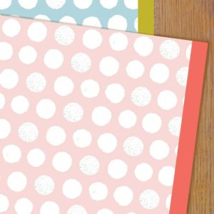 WPK04 spotty baby gift wrap pack