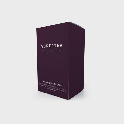 Supertea Chai Krishna Organic Tea (Case Of 4)