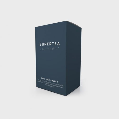 Supertea Earl Grey Organic Tea (Case Of 4)
