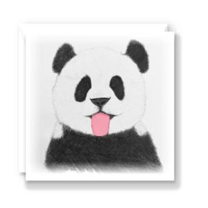 Cheeky Panda Greeting Card