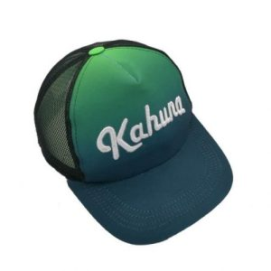 Gradient Green Trucker Cap