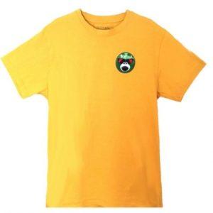Monkey Face T-shirt Yellow
