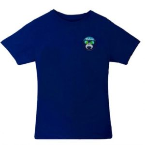 Monkey Face T-shirt Royal Blue - 4 Camiseta azul royal kahuna store hombre joven algodon mono gafas surf skate snow 500x500