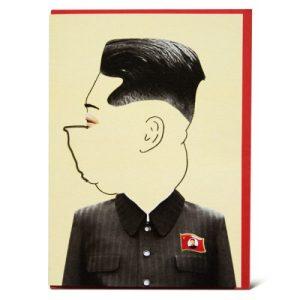 PRESIDENT KIM GREETING CARD