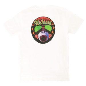 Gambler T-shirt White - 8 Camiseta kahuna store hombre joven algodon organico mono casino surf skate snow 500x500