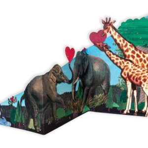 Greeting Cards - The Tri-Fold Collection - 'Animals In Love' - Animals in love 2 WEB 500x500