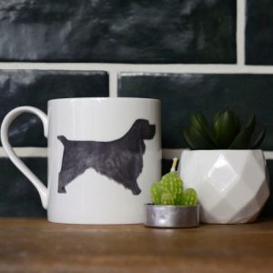 Cocker Spaniel Mugs - Black Cocker Spaniel Mug 500x500