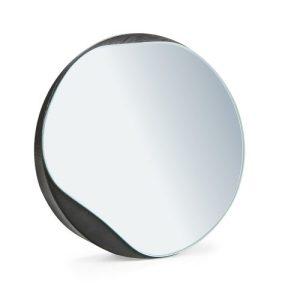 Small Mirror PUDDLE, Black