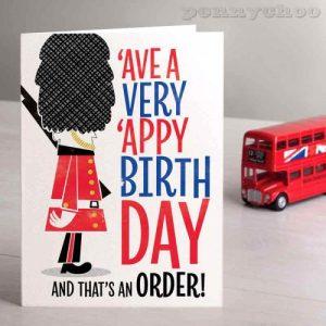 Capital Birthday: Guardsman