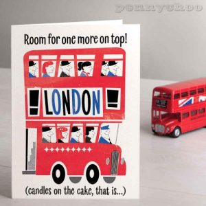 Capital Birthday: Routemaster Bus