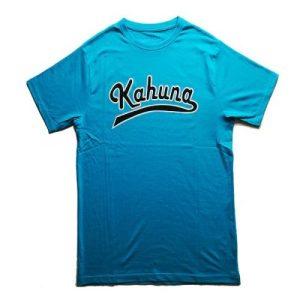 Baseball T-shirt Blue - Camiseta azul cielo kahuna store hombre joven algodon letras baseball surf skate snow 500x500