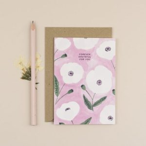Forever Grateful For You Greeting Card - ChloeHall HB 1 500x500
