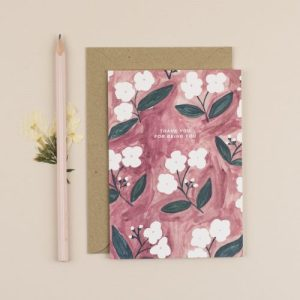 Thank You For Being You Greeting Card - ChloeHall HB 3 500x500