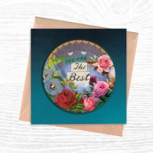 Greeting Cards - The Cut Out Collection - You Are The Best - Cut out 3 creoate 500x500