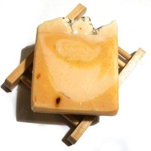 Box of 20 Lemon Sorbet Soap Bar – Vegan – Plastic Free – Hemp Rope Natural Soap Bars- Package Free