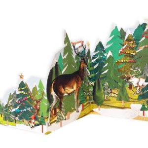 Christmas Cards - The Tri-Fold Collection - Festive Stags - Festive stags 2 WEB 500x500