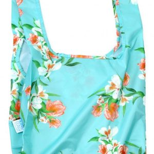 """""""Floral"""" Reusable Bags 100% Recycled from Plastic Bottles   Medium   KIND BAG"""