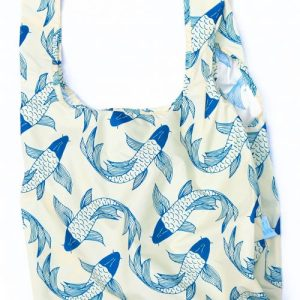 """""""Koi Fish"""" Reusable Bags 100% Recycled from Plastic Bottles 