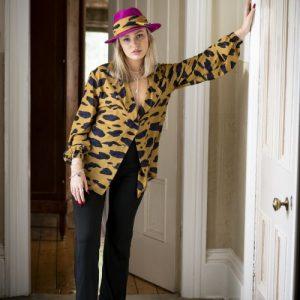 Mustard Animal Hermonie shirt - House of Zana Southlands shoot 433 500x500