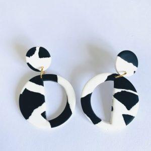 Helsinki Skies-Large Deco Earring (White) - IMG 3176 500x500