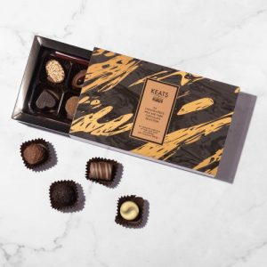 The chocolatiers milk and dark chocolate selection (8pcs) - Keats Luxury Assorted Chocolate Selection 8pcs new 500x500